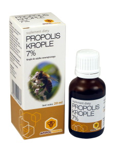 Propolis krople 7% 20ml Apipolfarma